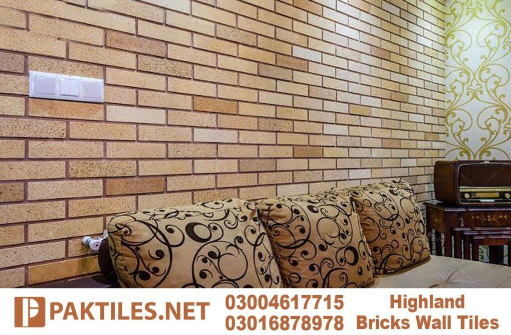 3 Yellow gutka fire bricks interior wall tiles in pakistan