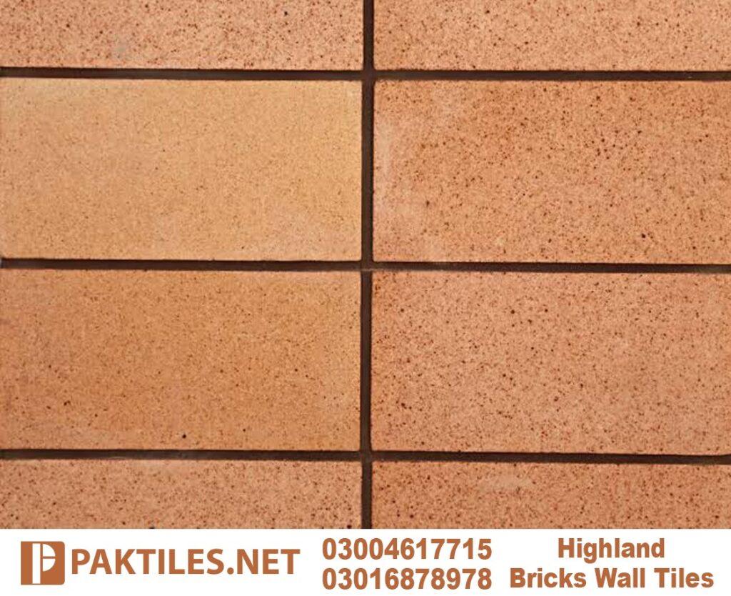 4 Yellow gutka fire brick interior cladding tiles in karachi