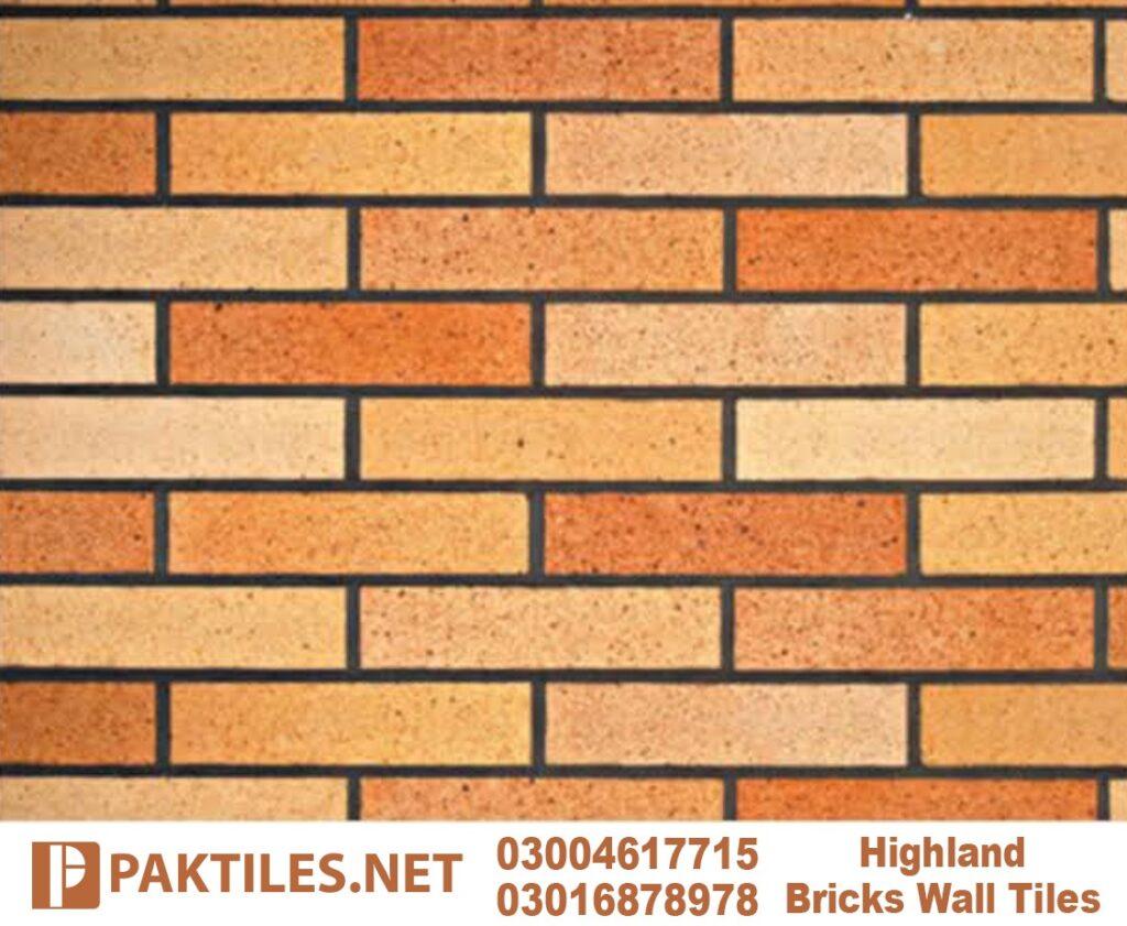 8 Yellow gutka tiles outdoor brick wall tiles