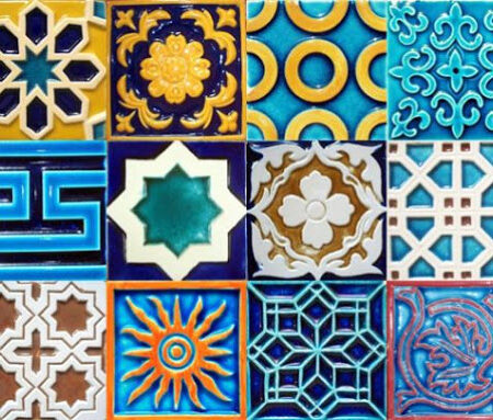 Ceramic Mosaic Wall Multani Tiles in Karachi Pakistan