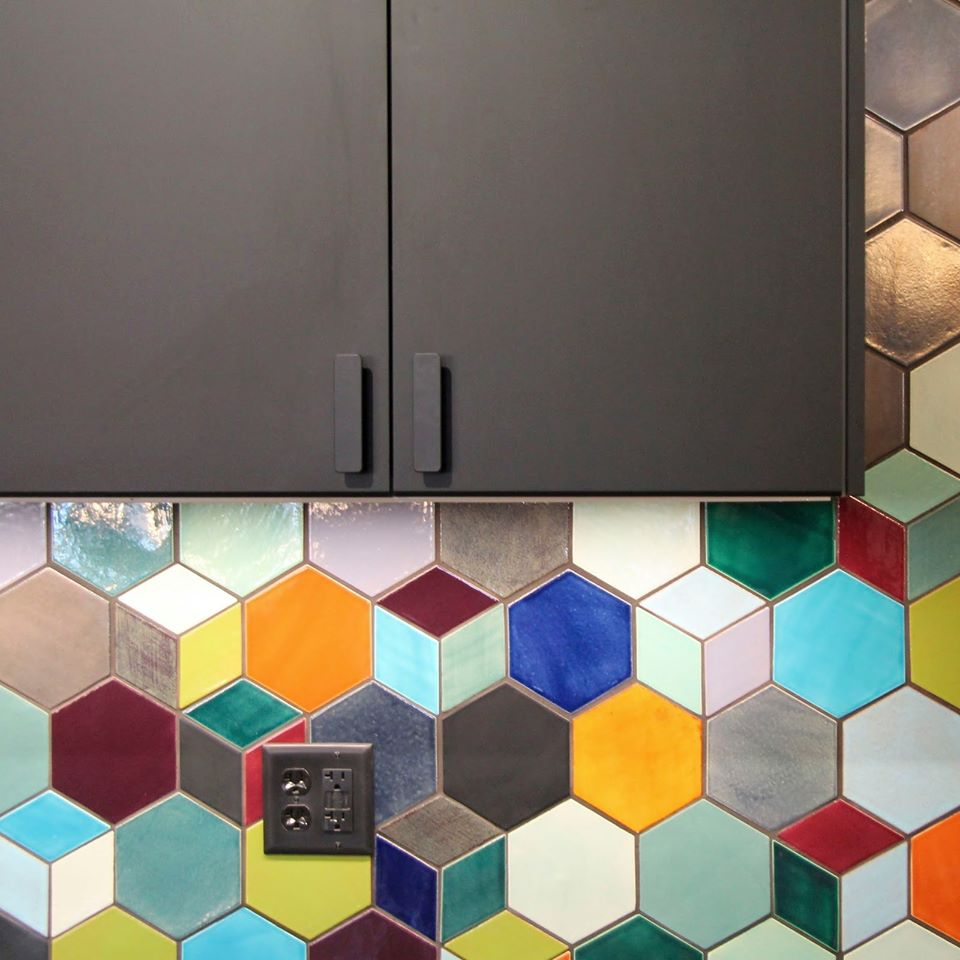 Different colorful kitchen backsplash tiles in pakistan