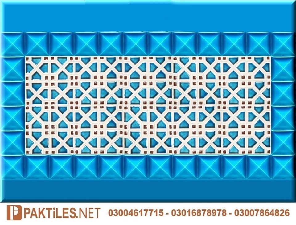 02 Mosaic Multani Tiles Blue Pottery in Lahore Pakistan