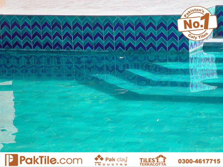 1 Handmade Swimming Pool Ceramic Floor Tiles in Pakistan