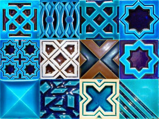 1 Multani Tiles Blue Pottery in Lahore