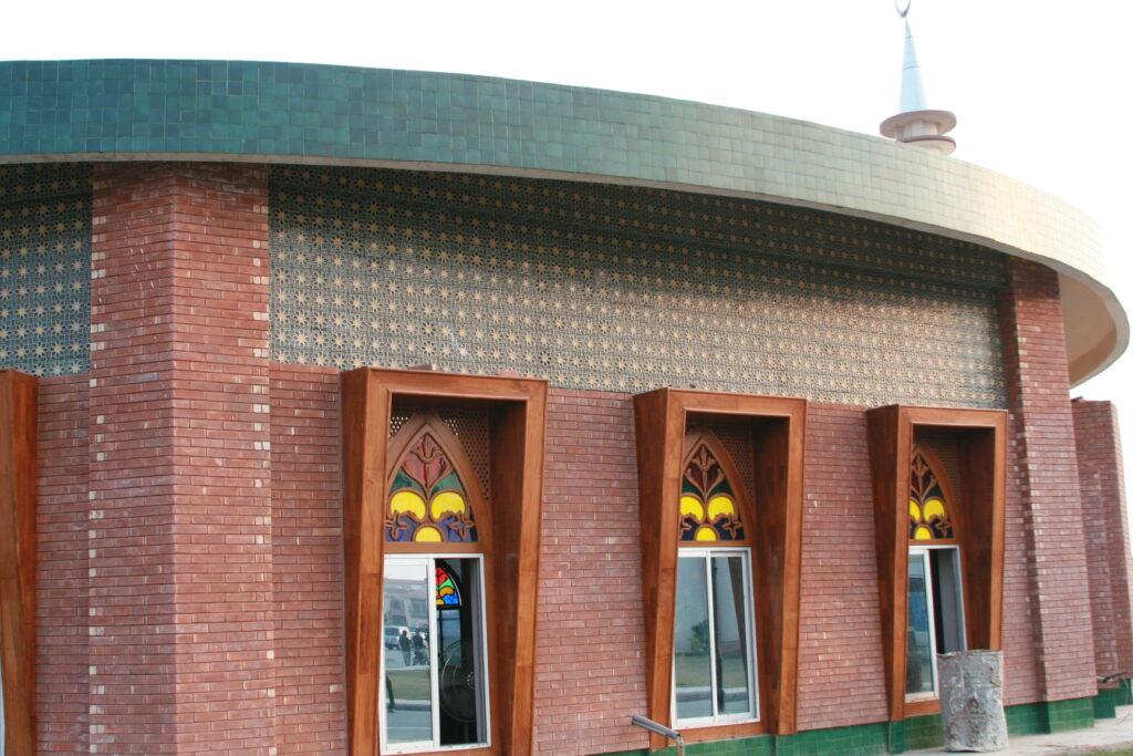 27 Multi Coloured Ceramic Mosaic Mosque Multani Tiles in Kpk Peshawar