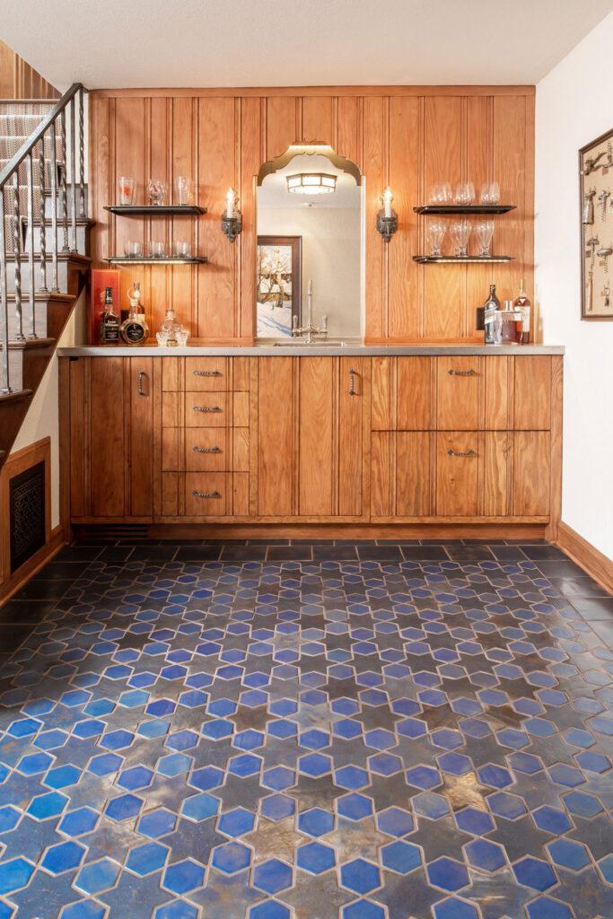 3 Blue Multani Tiles For Kitchen Living Room and Bathroom