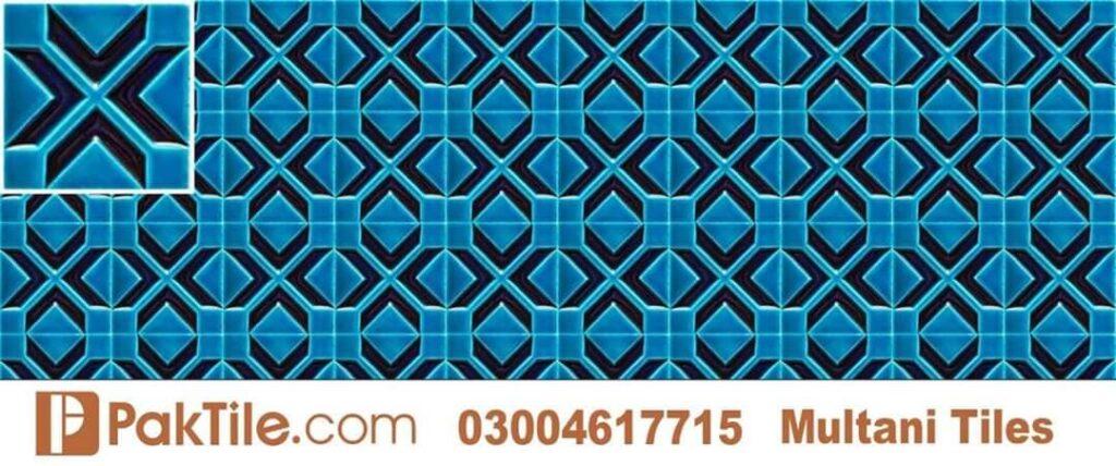 3 Handmade ceramic tiles multani pottery in karachi