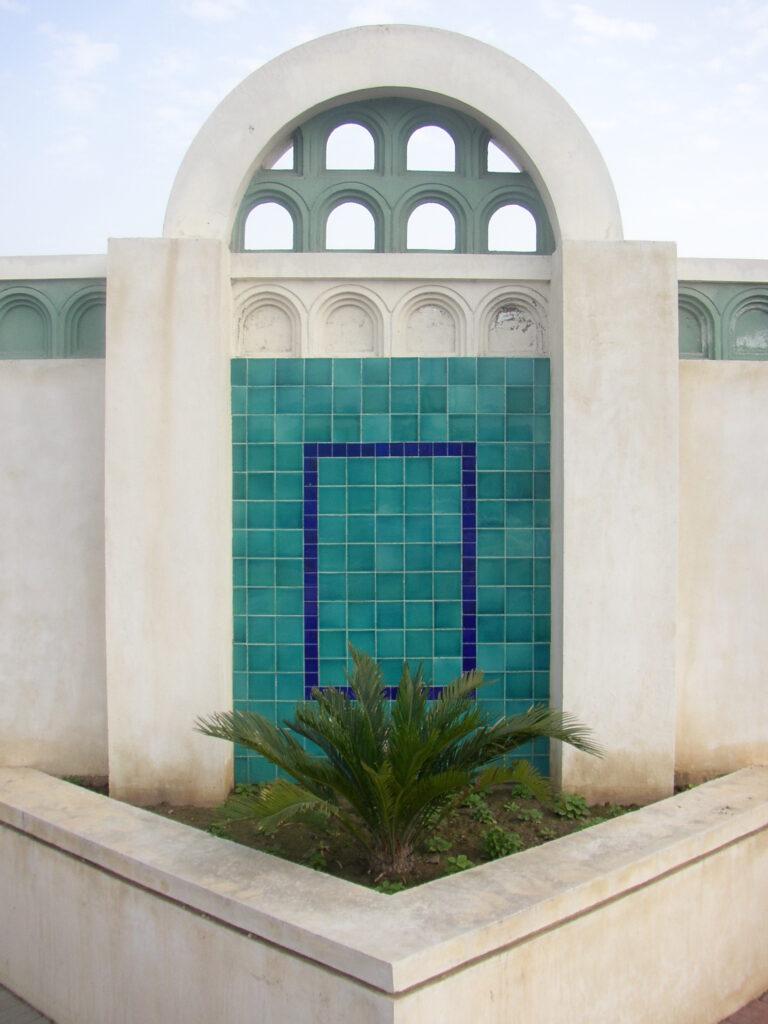 32 Home Outside Wall Glazed Ceramic Mosaic Blue Multani Tiles Patterns