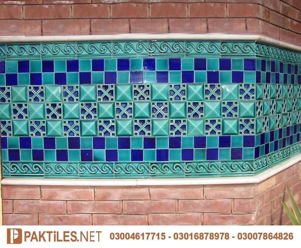 4 Mosaic multani tiles blue pottery history in pakistan