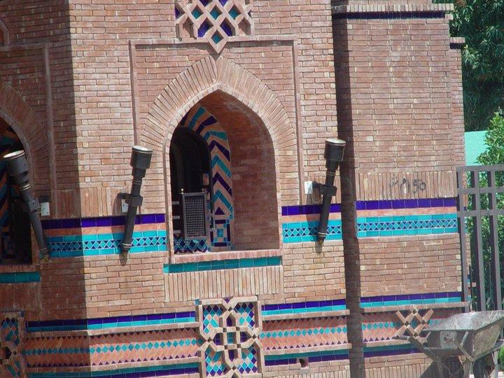 Blue Mosaic Wall Multani Tiles in Pakistan