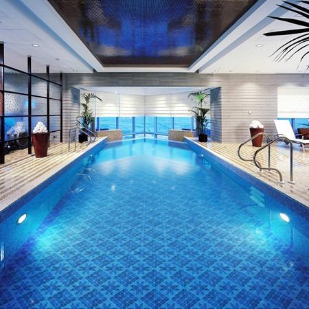 Blue Swimming Pool Tiles in Karachi