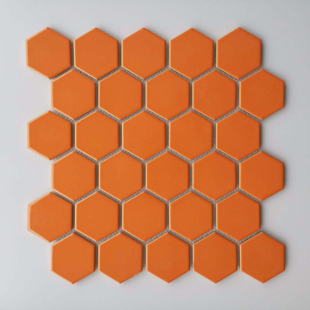 Orange Color Kitchen Tiles in Islamabad
