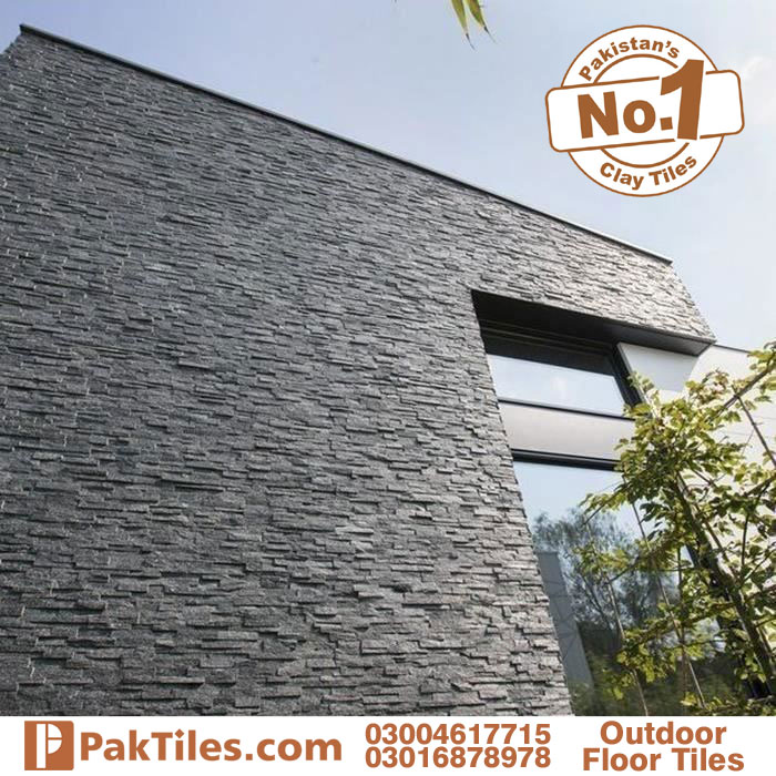 Grey outdoor stone tiles in pakistan