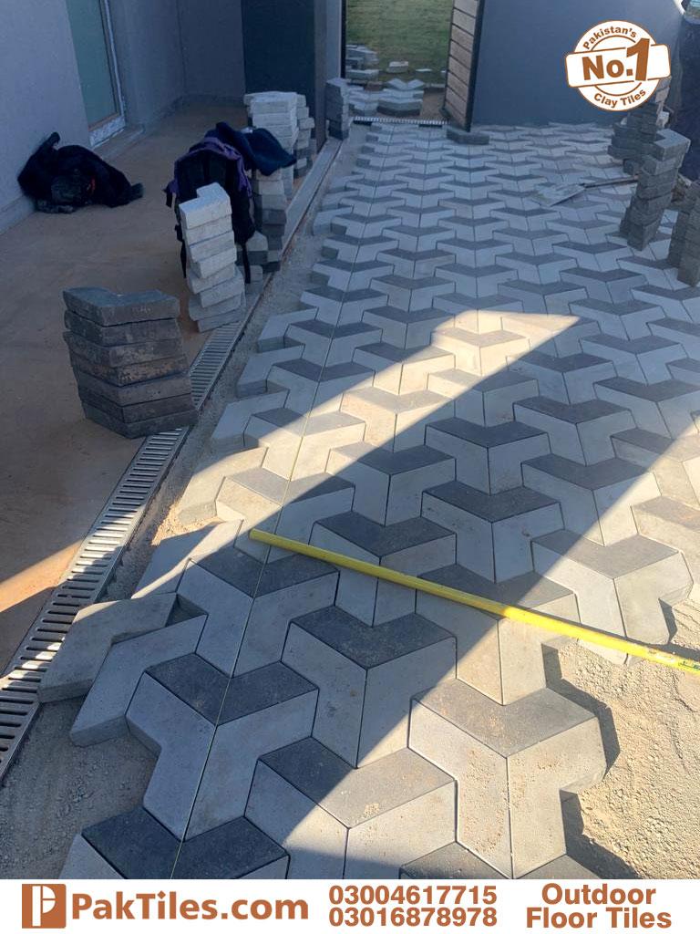 outdoor paver floor tiles in pakistan