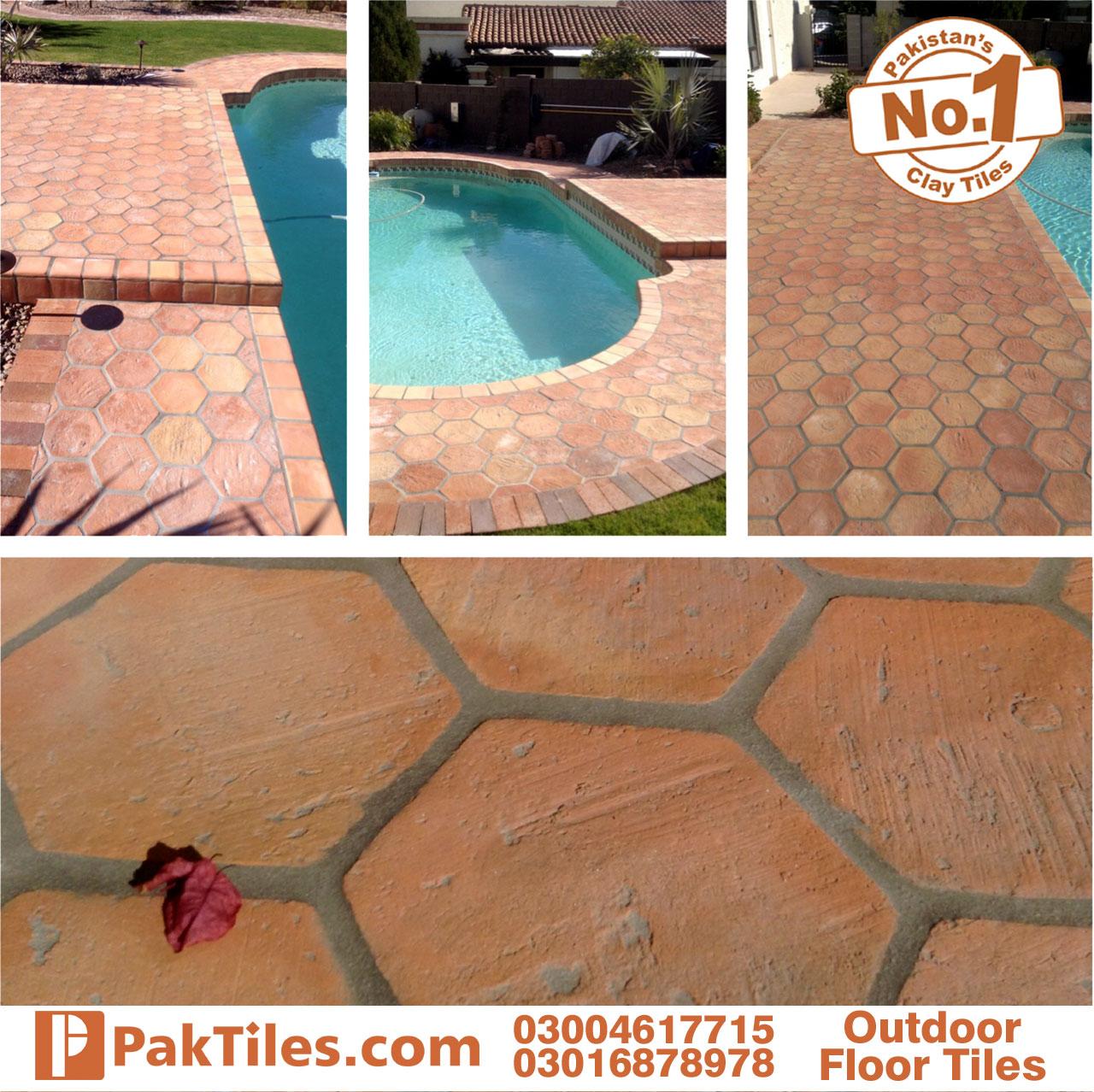 Exterior Pool Floor Tiles in Pakistan
