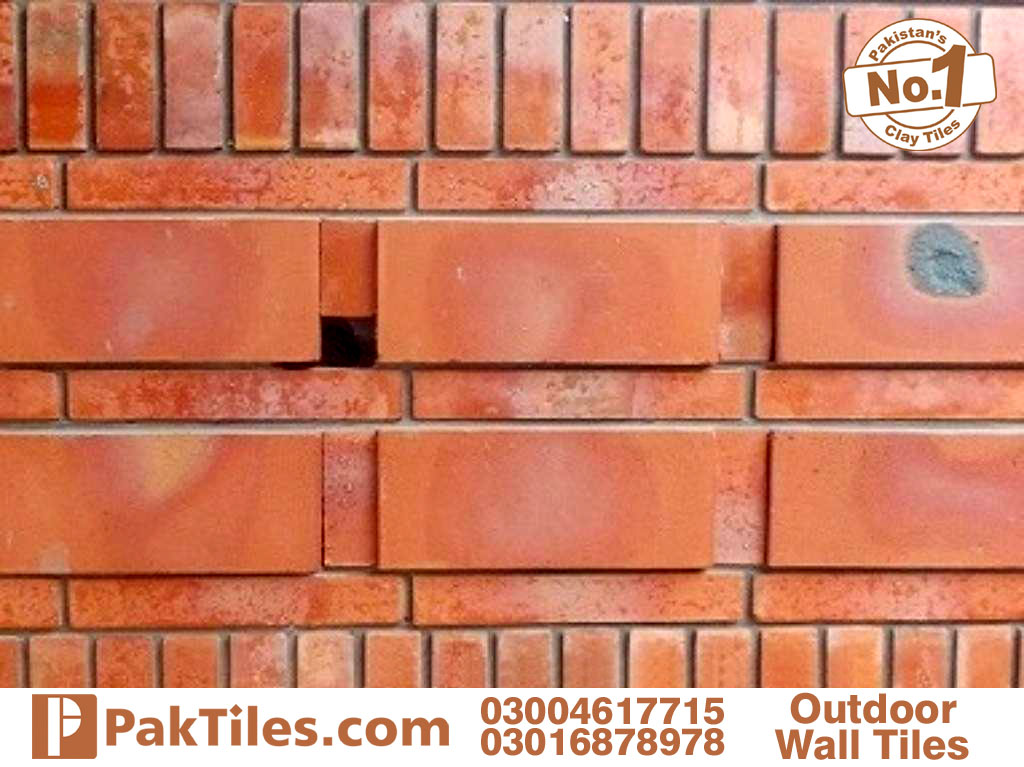 Exterior bricks wall tiles in pakistan