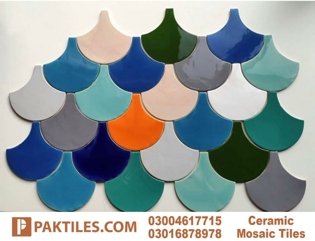 5 Multi Coloured Mosaic Outside Wall Tiles in Pakistan