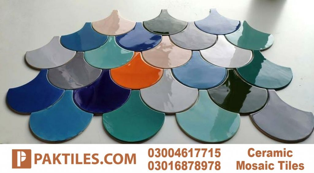 7 Multi Colors Mosaic Outdoor Wall Tiles in Gujranwala