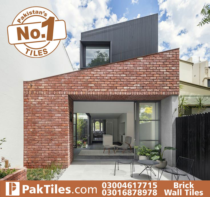 Brick wall tiles for interior walls