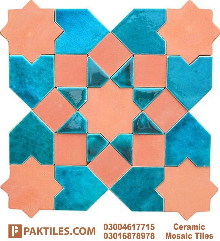 Moroccan Mosaic Outdoor Wall Tiles in Pakistan
