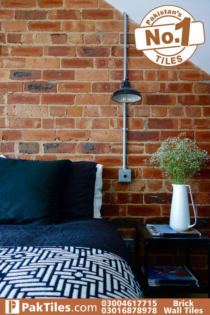 Outside Brick wall tiles texture