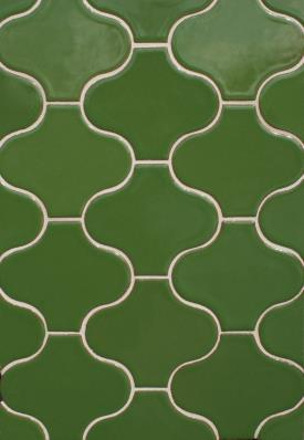 15 Green Ceramic Mosaic Wall Tiles in Lahore
