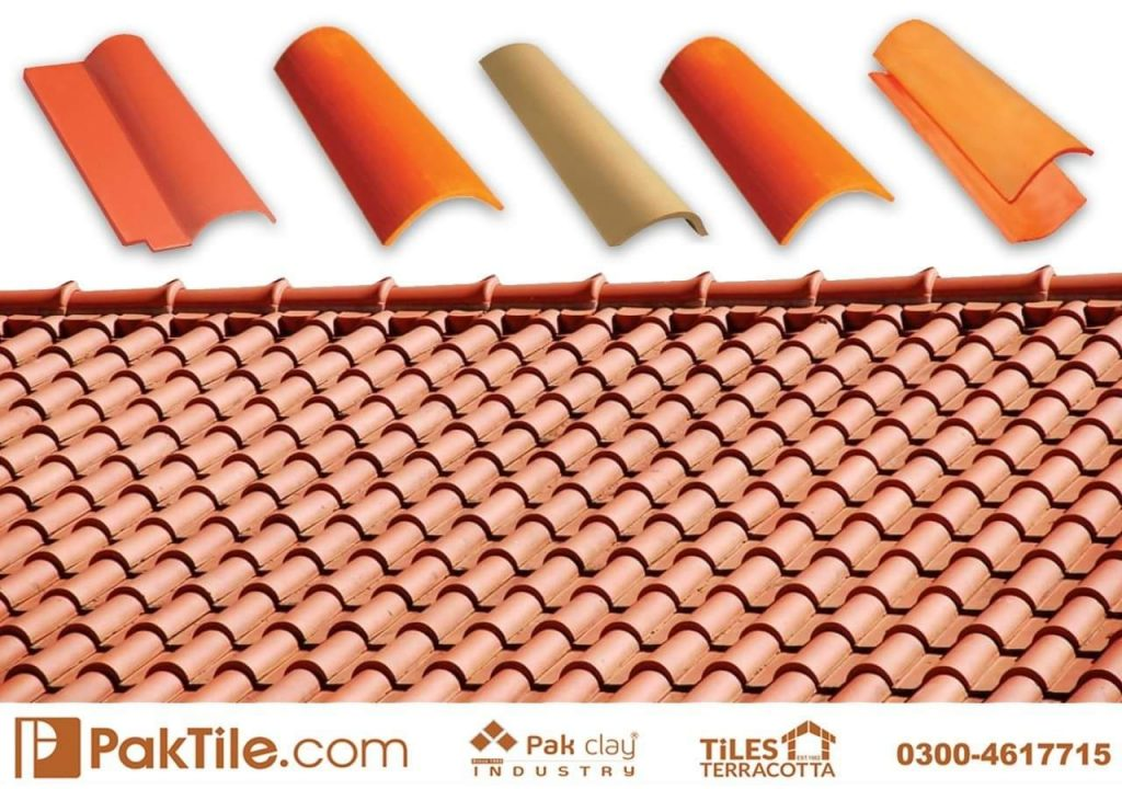 Pak Clay Natural Khaprail Tiles in Pakistan