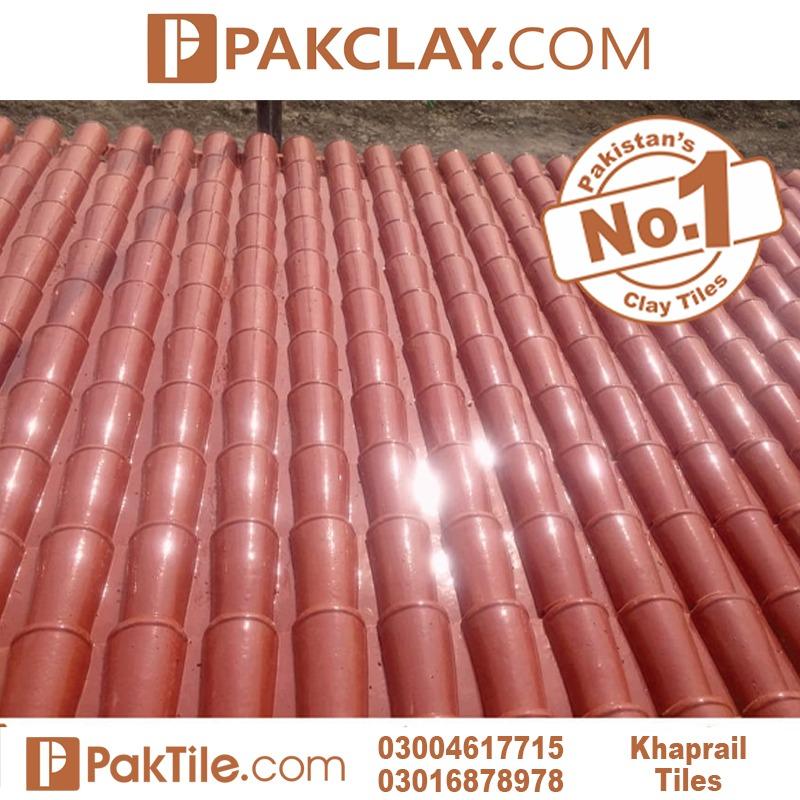 Glazed Terracotta Khaprail Tiles in Gujranwala