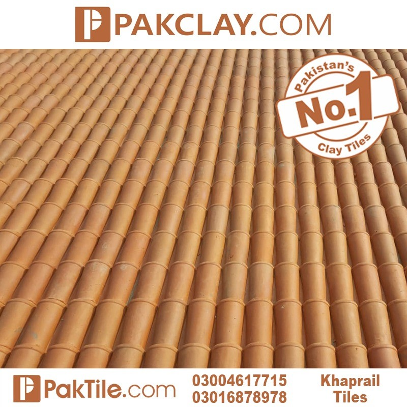 Natural Pak Clay Industry Khaprail Tiles Manufacturer
