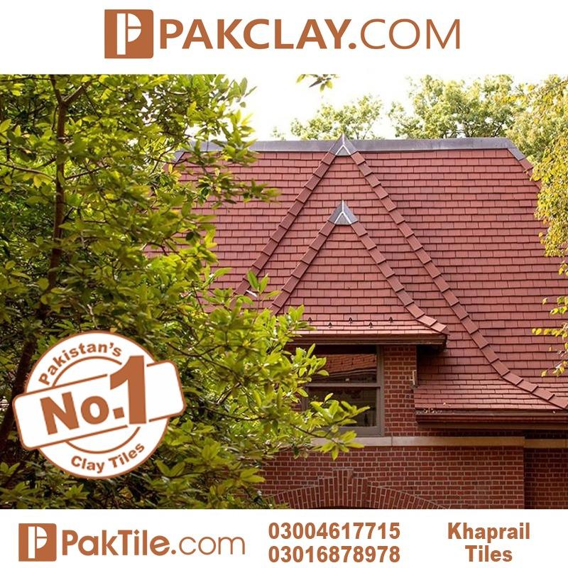 Flat Clay Khaprail Tiles in Faisalabad