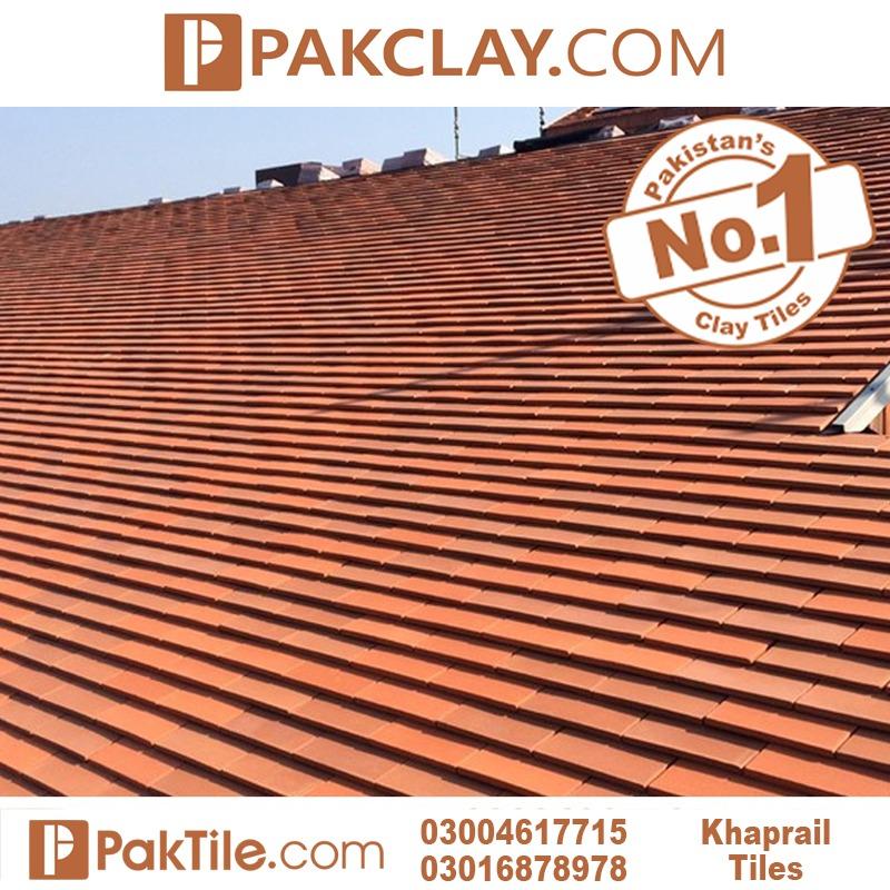 Red Color Khaprail tiles in Rawalpindi