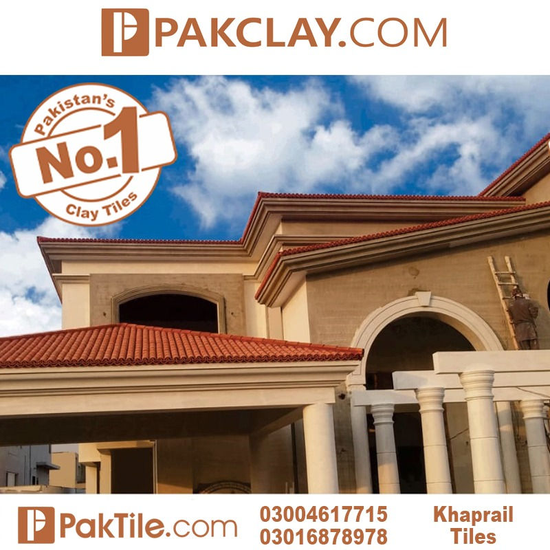 natural clay khaprail tiles in Islamabad