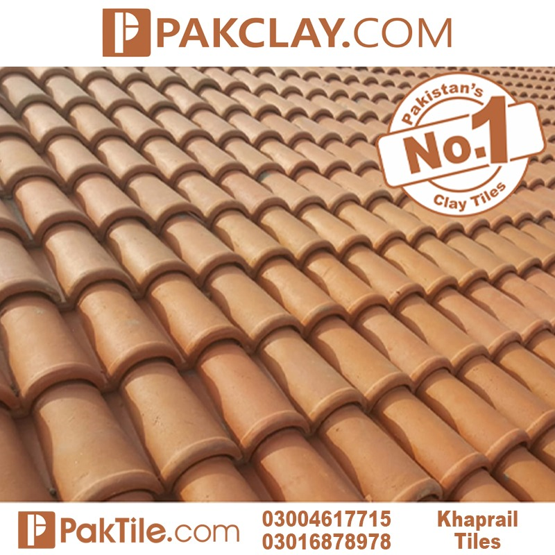 natural clay roof khaprail tiles
