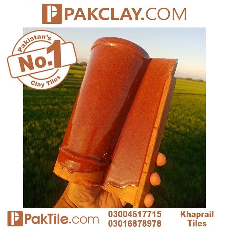 Pvc Color Glazed Khaprail tiles tiles size