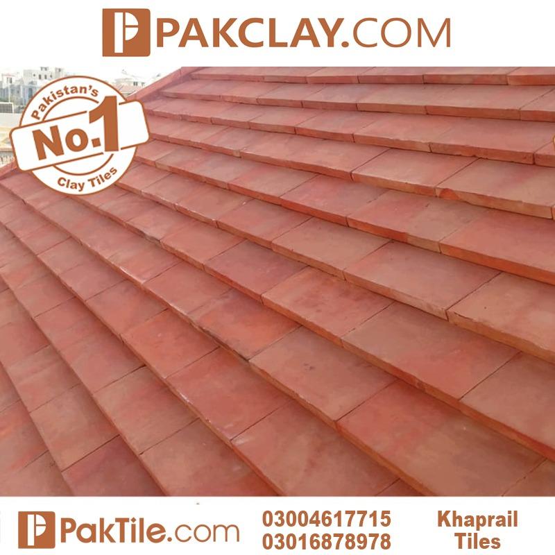 natural clay khaprail tiles texture