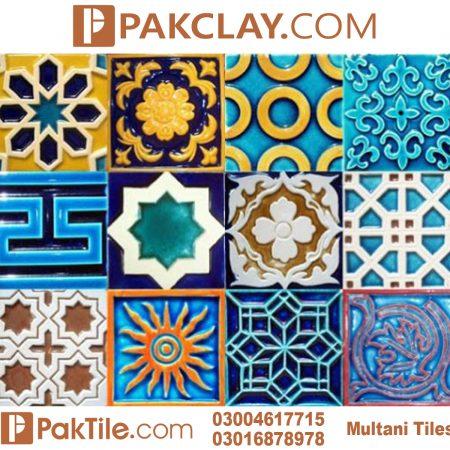 Blue Pak Clay Multani Tiles