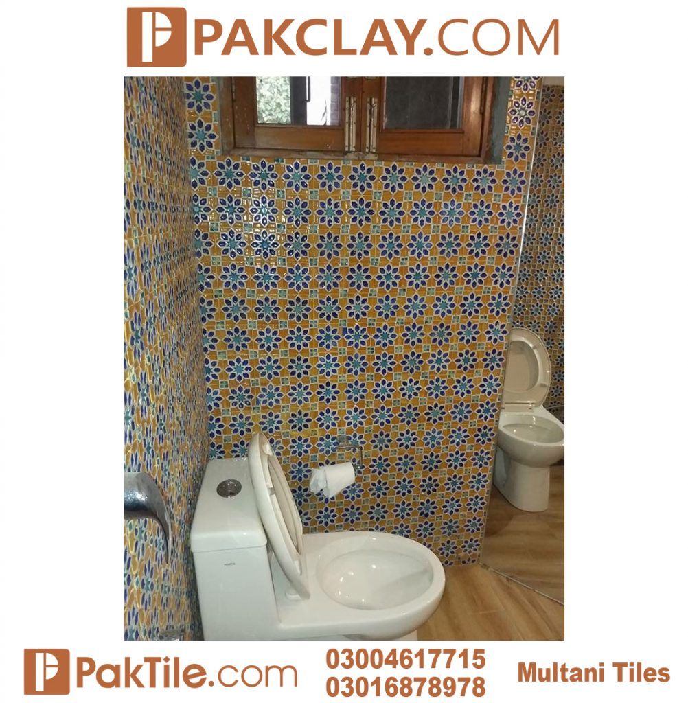 Blue Multani Tiles For Washroom