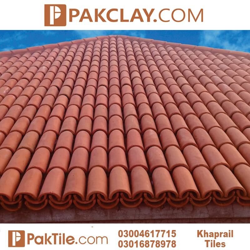Clay Khaprail Tile Design Price in Pakistan
